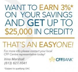 CFFBank – High Interest Saving Account