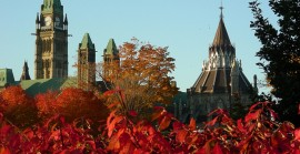 Ottawa – Parliament Hill in Fall1